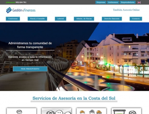 Web Gestión y Finanzas