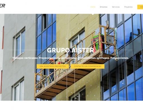 Web Grupo Aister