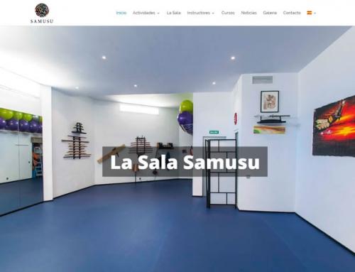 Web Sala Samusu